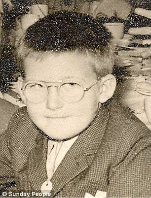 Alan Dean (pictured as a boy) said he was targeted in 1962 in Clayton, Greater Manchester - close to the Hattersley estate where Brady lived with partner Myra Hindley