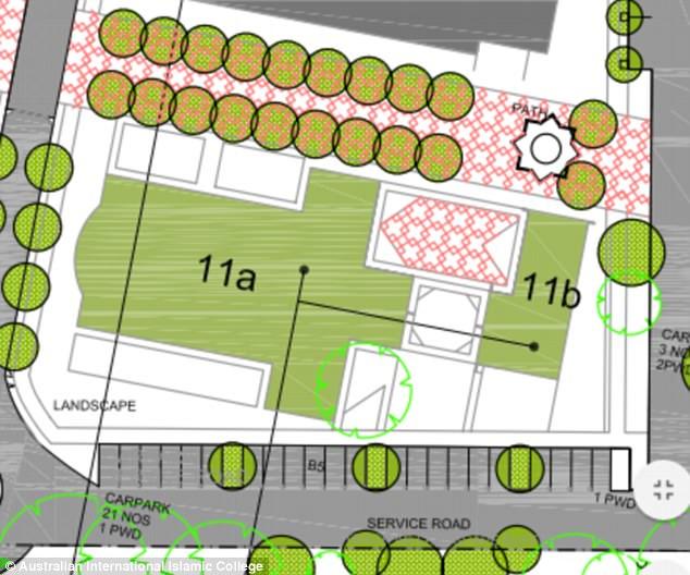 Los planes presentados ante el Ayuntamiento de Brisbane cuentan con una mezquita de dos pisos