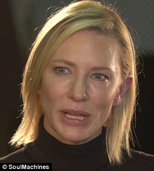 She is voiced by Hollywood actress Cate Blanchett (pictured), who donated her time to the project