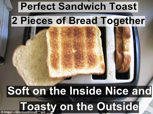 Genius: This could well change the way you craft your toasted sandwiches forever