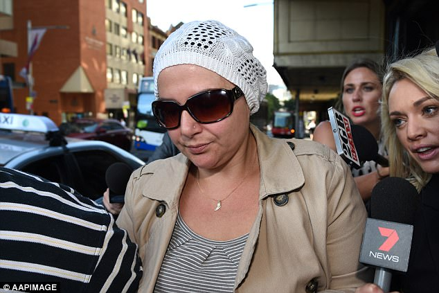 Amirah Droudis was found guilty in November 2016 of murdering Man Monis' ex-wife in 2013