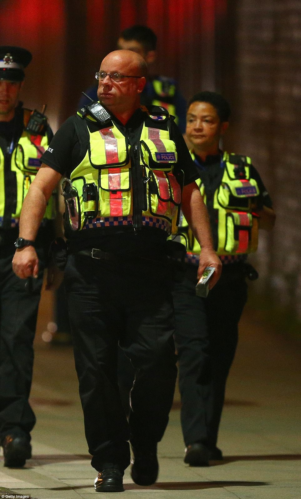 Greater Manchester Police has been widely praised for its fast reaction to the incident by commentators across the world