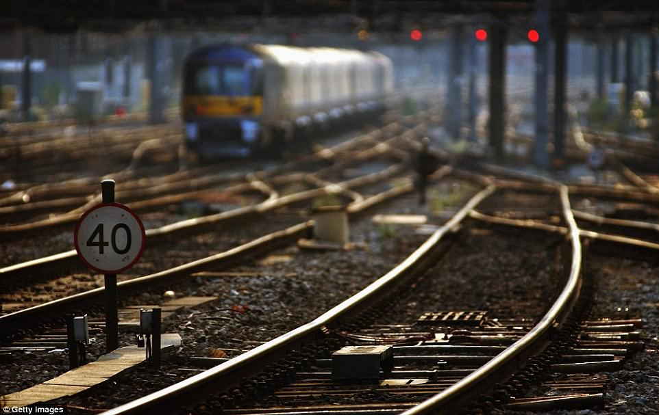 Train lines are slow going as Network Rail halves some speeds to stop rails from buckling. Network Rail said it imposed some speed restrictions – which usually halve train speeds – as 'direct sunshine' threatened to buckle rails