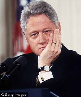 What about Bill? Hillary Clinton forgot to mention her husband when speaking to grads about impeached presidents