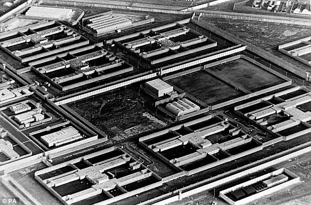 Yesterday it emerged that MI5 has identified 23,000 jihadis in the UK in recent years, of whom 3,000 are still considered a threat (file photo of the Maze Prison in Northern Ireland, built on the site of the Long Kesh internment camp)