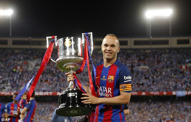 Andres Iniesta has become the most decorated player in the history of Spanish football