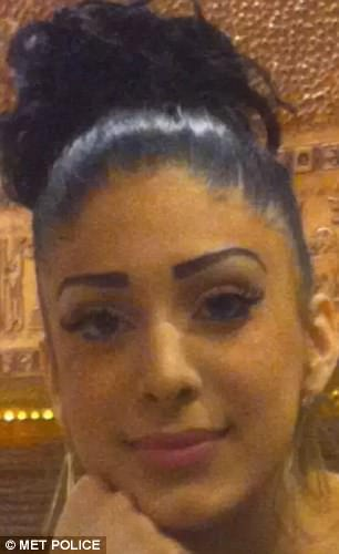 Mohanna Abdhou, 20, was in Brent, north west London, when she was fatally shot by two men