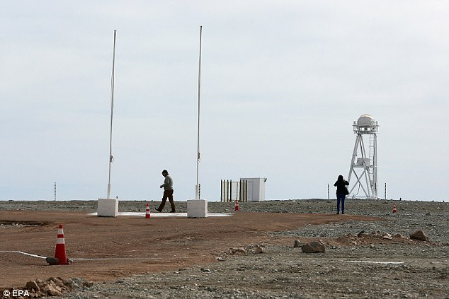 View of the Armazones hill where the Extremely Large Telescope will be located in Chile
