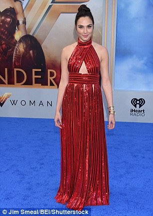 Israeli actress Gal Gadot plays the lead role in action movie Wonder Woman