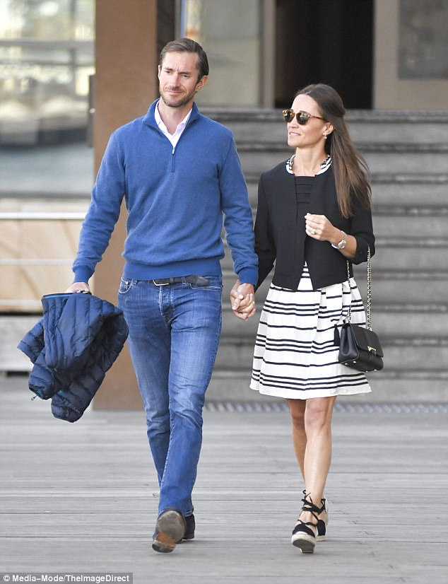 Kate Middleton Blue Wedge Shoes