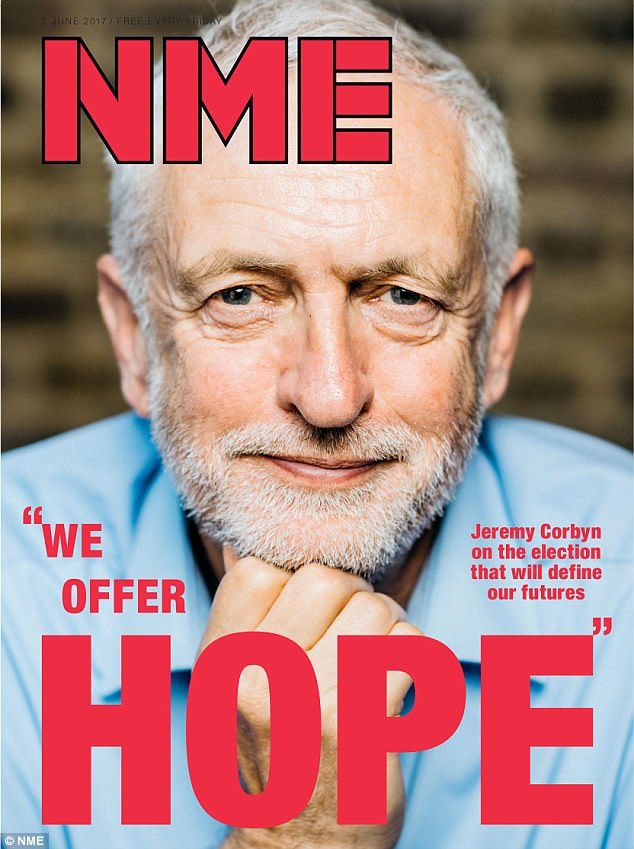 Image result for jeremy corbyn NME
