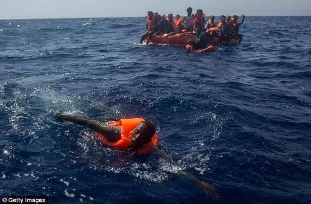 Image result for migrants die on way to Spain from Morocco july 2017