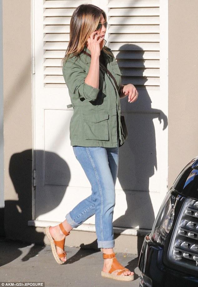 Jennifer Aniston Espadrille Wedges