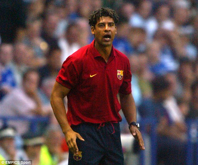 Rijkaard took charge of Barcelona and led the club to Champions League glory