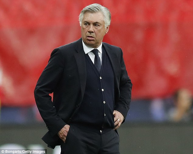 Ancelotti has won titles in four countries since moving into management