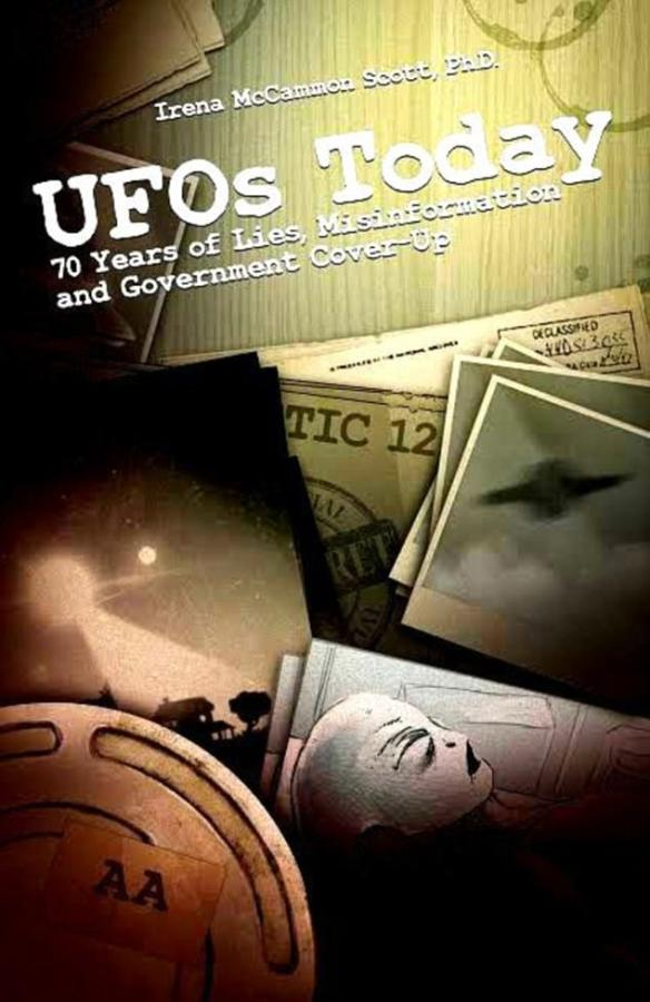 The interview features in the book UFOs Today: 70 Years of Lies, Misinformation and Government Cover-Up