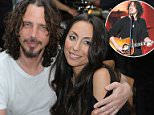Chris Cornell, pictured with wife Vicky, had several prescription drugs in his system when he was found dead in his Detroit hotel room on May 18, according to his toxicology report
