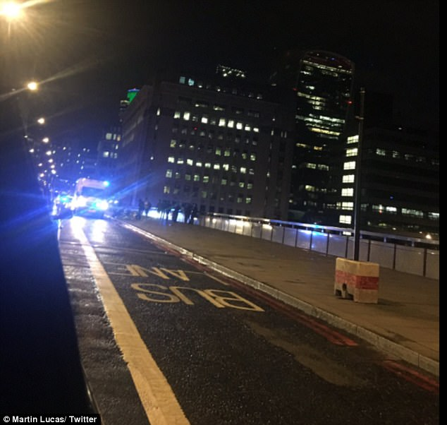 London Bridge station has been evacuated amid reports of the suspected terror attack