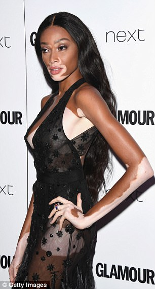 Jourdan Dunn And Winnie Harlow Attend Glamour Awards