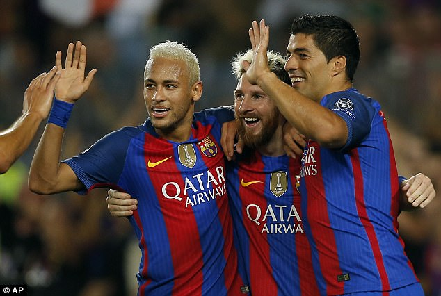 Spanish giants Barcelona are the second with an overall worth of £2.82bn, say Forbes