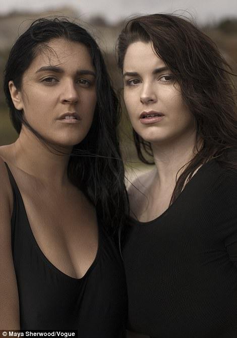 Tia (left) and Karyn Inder
