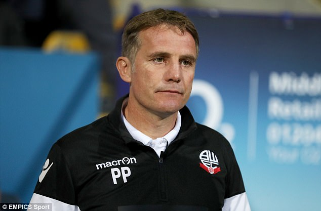 Image result for phil parkinson bolton