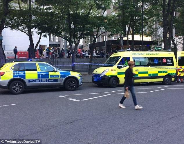 El presunto ataque ocurrió en el área Brunswick Square Gardens, cerca de la estación de metro Russell Square