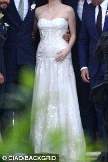 Jessica Chastain Wedding 5