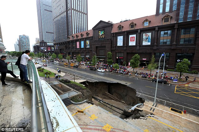 Jiangsu province has experienced heavy rains over the last few days
