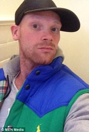 Philip Carter, 30, was pronounced dead at the scene after being struck by a tram on Sunday evening