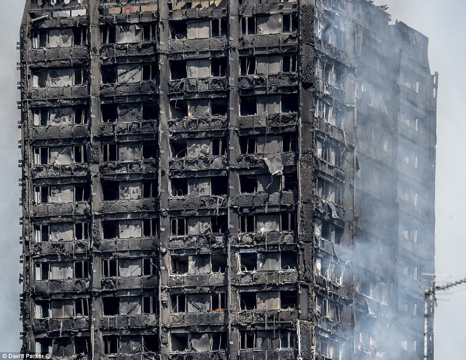 There are real fears that that nobody who lived on the top three residential floors may have survived the unprecedented fire