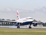 British Airways' shorthaul operation was ranked as being the best performing airline and received seven green dots next to its name
