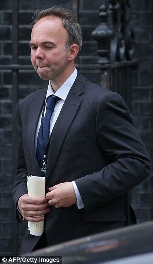 Ronnie King said requests for urgent meetings were repeatedly turned down by former housing minister Gavin Barwell (pictured)