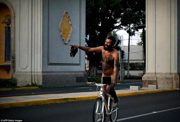 The first ever WNBR event took place in 2004 - even in Brazil that year during cold and stormy weather