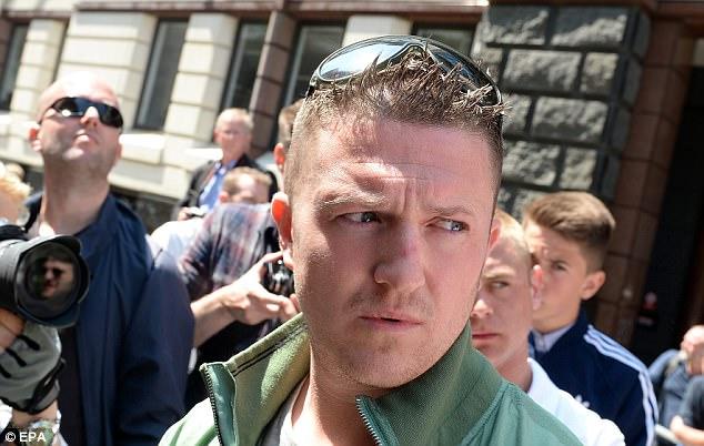 El ex líder de la Liga de Defensa Inglés Tommy Robinson ha sido criticado por sus comentarios a raíz del ataque Finsbury Park