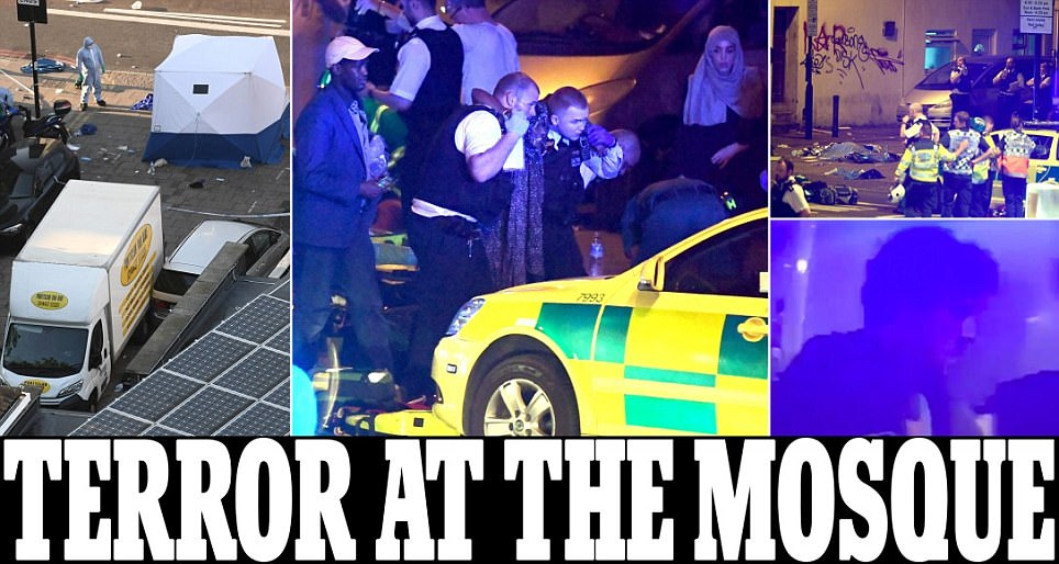 Finsbury Park: One dead and ten hurt in new London attack