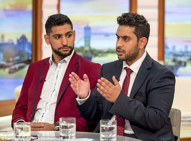 Amir agregó que estaba preocupado por el futuro de su hijo en medio de una posible reacción hacia los musulmanes
