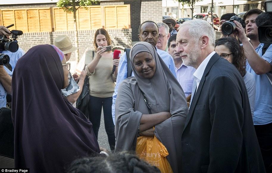 El Islington Norte MP dijo que ya estaba trabajando con líderes de la comunidad musulmana en Bienestar Casa en respuesta al ataque