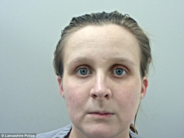 Rachael Tunstill, 26, from Burnley in Lancashire, stabbed Mia Kelly 14 times just moments after the infant was born in her bathroom while her boyfriend played computer games