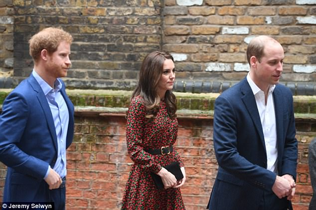 On the monarchy, Prince Harry (left) asked : 'Is there any one of the Royal Family who wants to be king or queen? I don't think so, but we will carry out our duties at the right time'