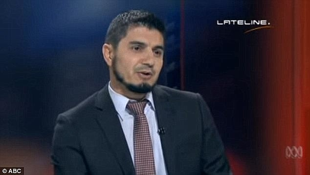 Wassim Doureihi has previously repeatedly refused to condemn ISIS in an ABC-TV interview