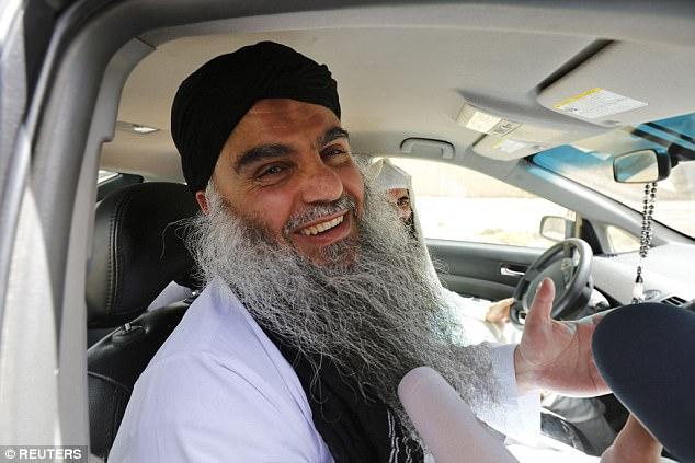 Se entiende que Abu Qatada (en la foto en Jordania) fue la última persona en ser enviado a casa bajo la Deportación con el acuerdo de garantías