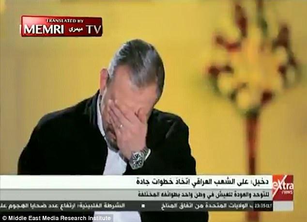 Los detalles de las atrocidades fueron tan desgarradora que el entrevistador de televisión tuvo que enjugar las lágrimas