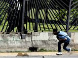 David José Vallenilla, 22, was shot during a protest outside La Carlota airbase in Caracas