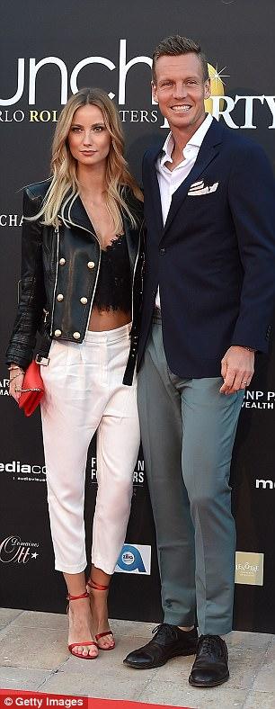 The blonde beauty started datingTomáš Berdych since 2012