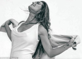 Mean jeans! The mother-of-two also shared a memorable story about her Calvins with the magazine, revealing she couldn't find any of the iconic jeans once she searched her closet