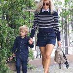 Stylish Mummy & Son: Fergie & Son Axl Church Style in LA