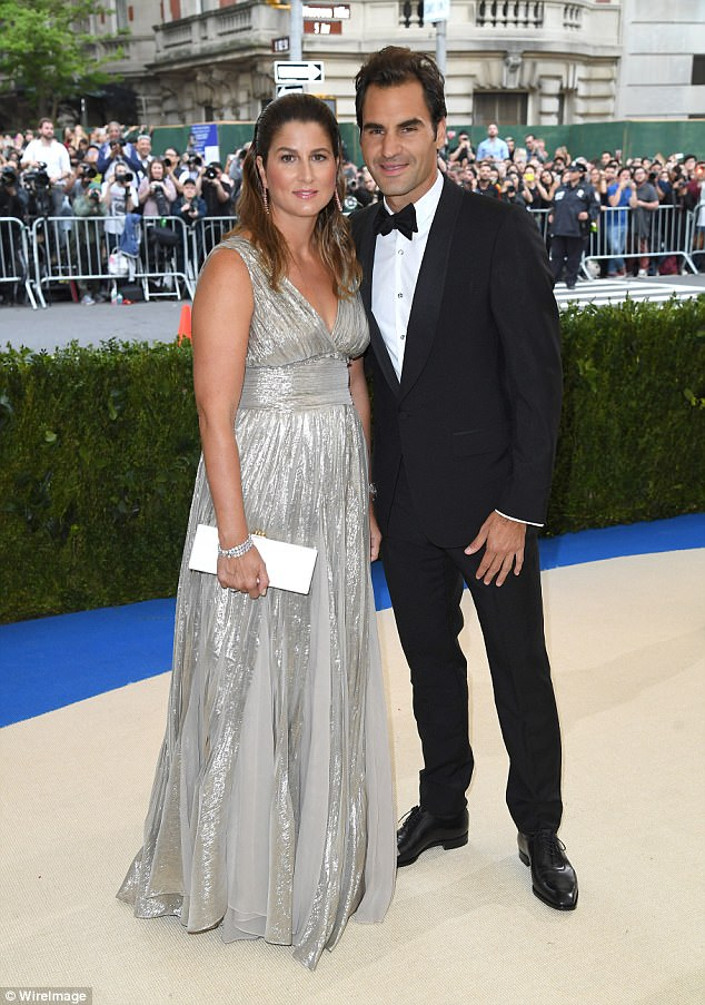Mirka and Roger, who move in gilded circles, attend the Met Gala in New York