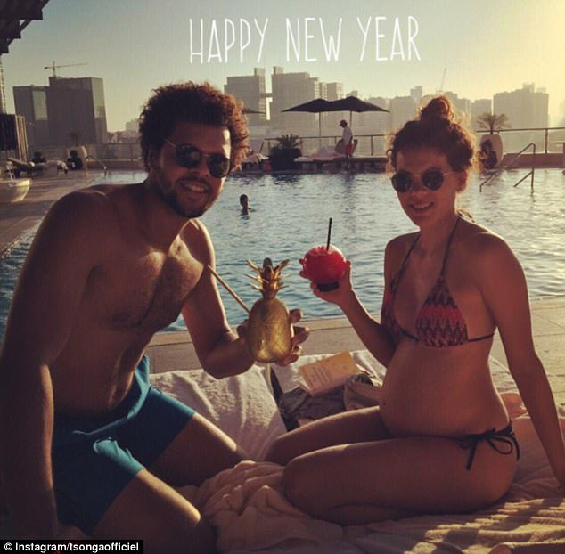 Swiss-born Noura has been dating Frenchman Jo-Wilfried Tsonga for four years and recently gave birth to their first child