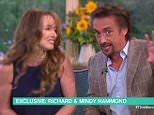 Mandy Hammond warned her husband Richard Hammond today he will have to quit if he crashes his car badly again